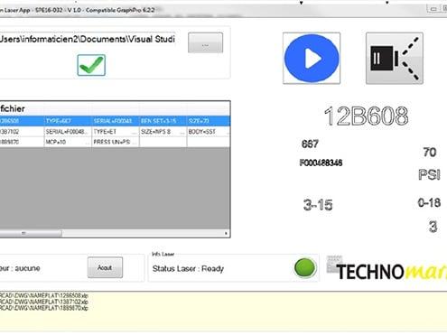 Solution 激光打标专用软件 Technomark