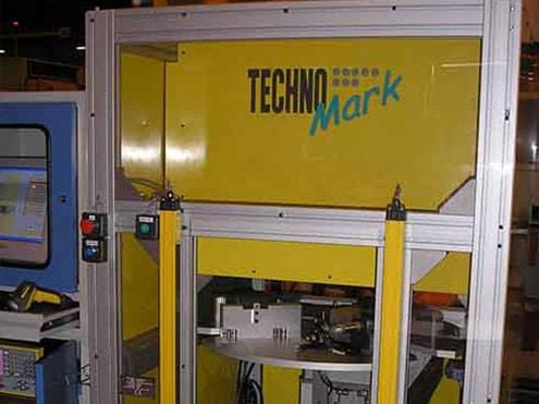 Solution 飞机喷射叶片打标 Technomark