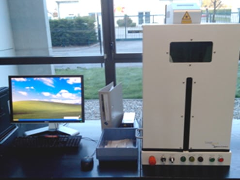 Solution 铝合金、钛合金零件打标 Technomark