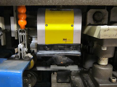 Solution 油漆、电镀后的零件打标 Technomark